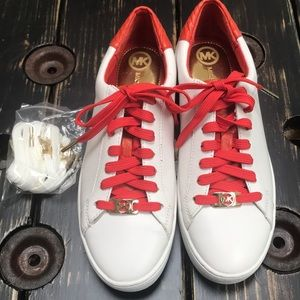 """NEW Michael Kors """"Catelyn"""" Leather Sneakers"""